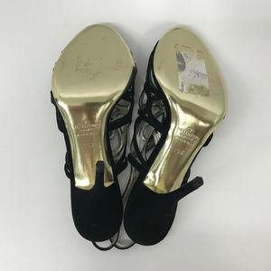 Valentino Garavani Shoes - Valentino Garavani Black Suede Cut Out Shoes 35.5